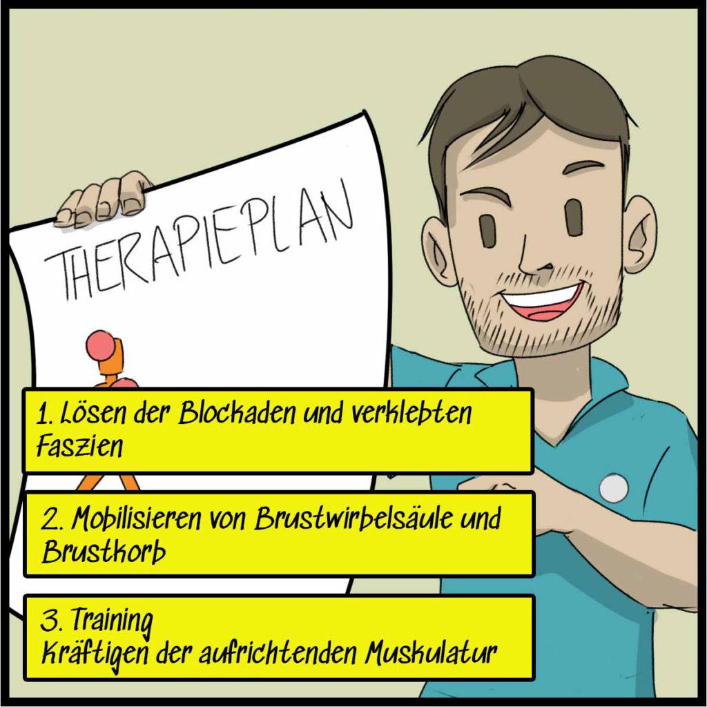 Wir stellen einen individuellen Therapieplan auf.