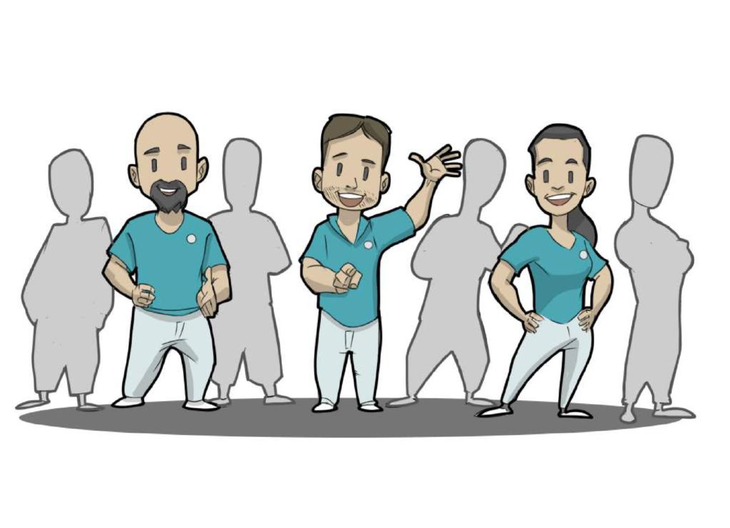 Team der Praxis Johannes Fetzer Osteopathie und Physiotherapie